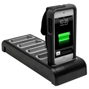 Linea Pro charging dock five units